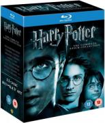 Harry Potter - Complete 8 Film Collection  - Bluray