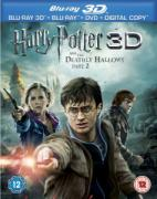 Harry Potter y las Reliquias de la Muerte, parte 2 3D Triple Play - Bluray