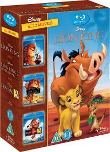Trilogía de El Rey León Triple Pack