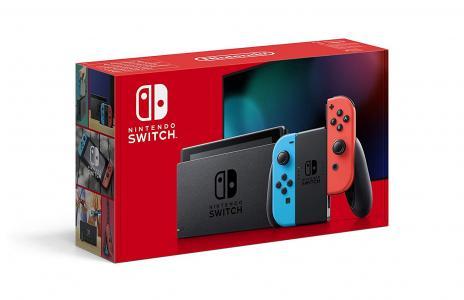 Consola Nintendo Switch Gris, edición 2019
