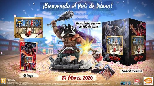 One Piece Pirate Warriors 4 Kaido Edition (Coleccionista)