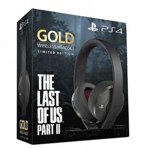Sony Wireless Headset Gold Edición Last of Us 2