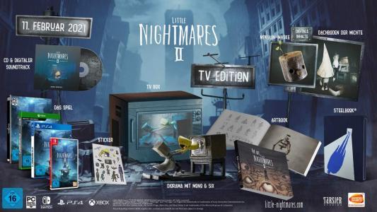 Little Nightmares II Edición De Televisión
