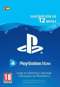Suscripción PlayStation Now 12 meses