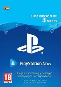 Suscripción PlayStation Now 3 meses