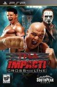 TNA Impact Cross the Line  - PSP