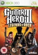 Guitar Hero 3: Legends of Rock - Game Only  - XBox 360