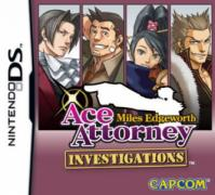 Ace Attorney Investigations: Miles Edgeworth  - Nintendo DS