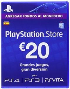 PlayStation Store Tarjeta Prepago 20E