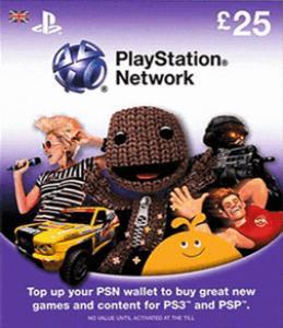 PlayStation Plus (PSN Plus) Tarjeta Prepago £25