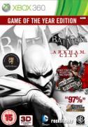Batman: Arkham City GOTY Edition - XBox 360