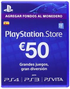 PlayStation Store Tarjeta Prepago 50E
