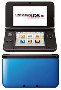 Nintendo 3DS XL Negra y Azul