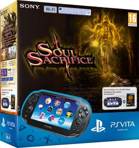 PS Vita Pack Soul Sacrifice