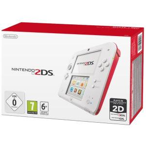 Nintendo 2DS Blanco y Rojo