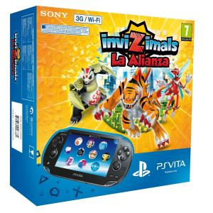 PS Vita Pack Consola 3G + Invizimals: La Alianza