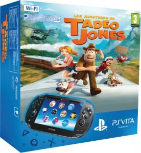 PS Vita Pack Consola 3G + Tadeo Jones
