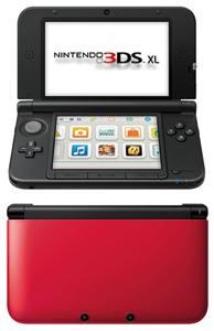 Nintendo 3DS XL Negra y Roja