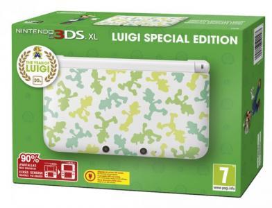 Nintendo 3DS XL Edición especial Luigi