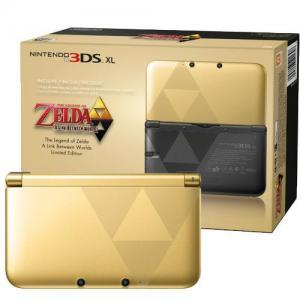 Nintendo 3DS XL Edición Limitada The Legend of Zelda: A Link Between Worlds