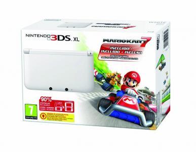 Nintendo 3DS XL Pack Blanca con Mario Kart
