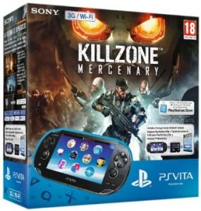 PS Vita Pack Consola 3G + Killzone Mercenaries + Tarjeta De Memoria 8 GB