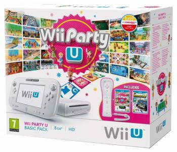 Nintendo Wii U Pack Wii Party U Nintendo Land Para Wii U