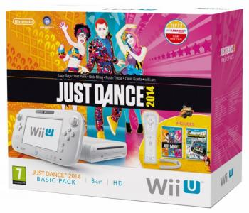 Nintendo Wii U Pack Just Dance 2014 + Nintendo Land