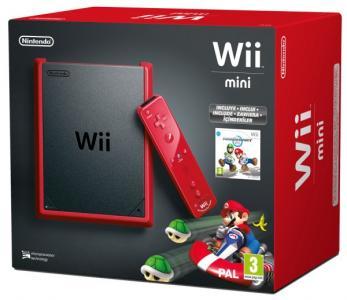 Wii Mini roja + Mario Kart
