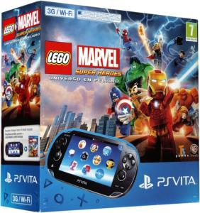 PS Vita Pack Consola 3G + LEGO Marvel Super Heroes