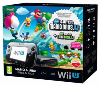 Nintendo Wii U Pack Super Mario Luigi Para Wii U Yambalu