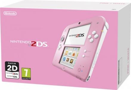 Nintendo 2DS Rosa y Blanco