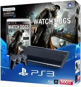 Playstation 3 Pack consola 500GB + Watch Dogs
