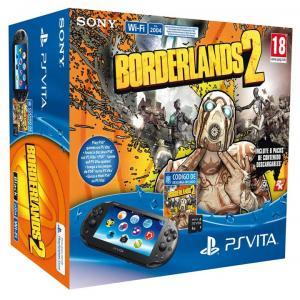 PS Vita Pack consola slim + Borderlands 2 + Tarjeta 4GB