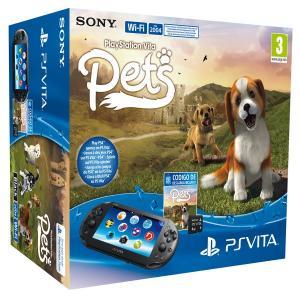 PS Vita Pack consola slim + Pets + Tarjeta 4GB