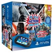 Pack consola slim + Action Mega Pack + Tarjeta 8GB