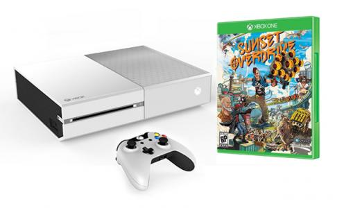 Consola Xbox One Sin Kinect con Sunset Overdrive