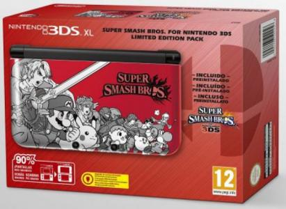 Nintendo 3DS XL Pack Super Smash Bros