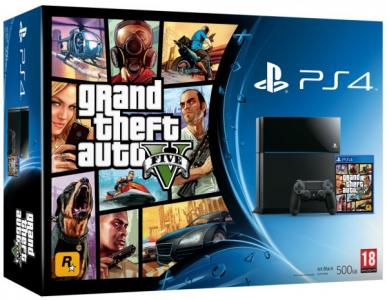 Consola Playstation 4 Ps4 Pack Grand Theft Auto V Para