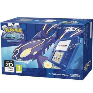 Nintendo 2DS Pack Azul + Pokémon Zafiro Alfa