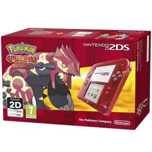 Nintendo 2DS Pack Rojo + Pokémon Rubí Omega