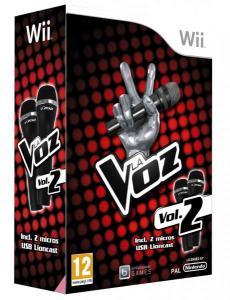 La Voz 2 Pack 2 micrófonos