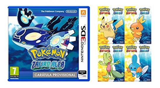 Pokemon Zafiro Alfa Oferta Exclusiva Amazon Para Nintendo 3ds