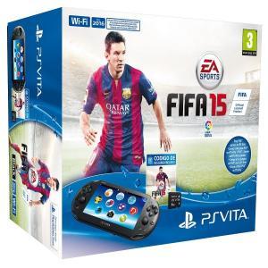 PS Vita Pack consola slim + FIFA 15 + Tarjeta 4GB