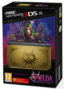 New Nintendo 3DS XL Edición The Legend Of Zelda: Majora's Mask 3D