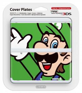 Cubierta New Nintendo 3DS Luigi