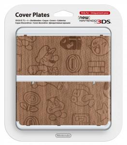 Cubierta New Nintendo 3DS Mario Madera