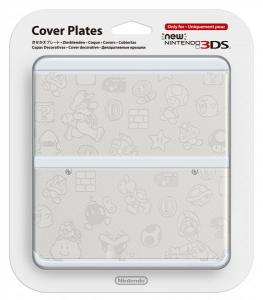 Cubierta New Nintendo 3DS Mario Blanca