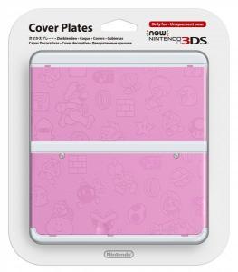 Cubierta New Nintendo 3DS Mario Rosa