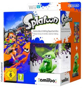 Splatoon Pack Amiibo Calamar